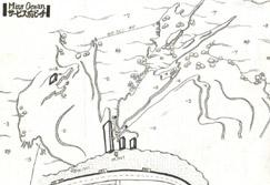 ミスオーシャン・ダイビングサービス前ビーチマップ