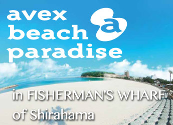 avex beach paradise in FISHERMAN'S WHARF of Shirahama