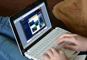 パソコンを使ってオンライン学習